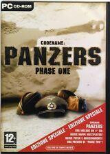 Gioco Pc Codename: Panzers Phase one - Ed. italiana 4 CD 2004 Usato