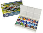Winsor and Newton Cotman Watercolour Whole Pan Painting Box - 12 Whole Pan
