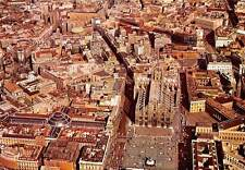 Italy Milano Aerial view of the Cathedral Square and Royal Palace
