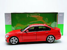 Welly 2013 BMW 335i F30 Red Color in 1/18 Scale. New Release!  In Stock!