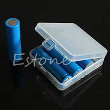 Hot Portable Hard Plastic Battery Case Holder Storage Box For 4 x18650 Batteries