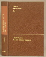 THE JOURNALS OF MAJOR ROBERT ROGERS An Account of Several Excursions rangers
