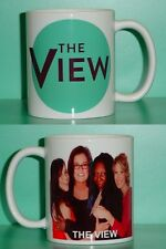 THE VIEW - Whoopi, Rosie O'Donnell - with 2 Photos - Collectible GIFT Mug 04