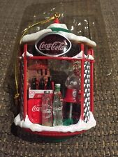 ENESCO CHRISTMAS ORNAMENT COCA-COLA BRIGHTEN UP THE HOLIDAYS WITH THE REAL THING