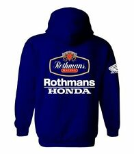 Rothmans Honda Motor Bike Inspired Hoodie (Deep Navy) M