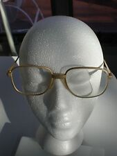 VINTAGE Premier LARGE  Aviator Sunglasses Eyeglasses MEN FULL RIM GOLD TONE