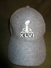 Super Bowl XLVI Baseball Cap Patriots vs. Giants NFL Superbowl 2012 Hat One Size