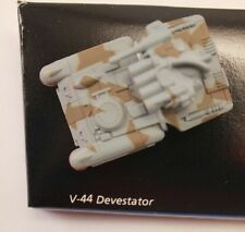 Galaxy Voyagers Micro Machines #6 V-44 DEVESTATOR Loose 100% Complete