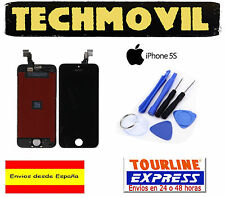 PANTALLA COMPLETA LCD DISPLAY + TACTIL TOUCH DIGITALIZADOR APPLE IPHONE 5S NEGRO