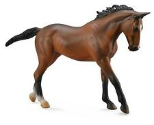 *NEW* DELUXE 1:12 SCALE THOROUGHBRED BAY MARE HORSE MODEL by COLLECTA 88634