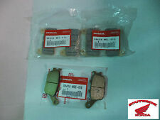 GENUINE HONDA BRAKE PAD SET FRONT &_REAR CBR600RR