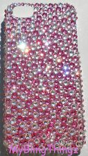 BUMPY Style Crystal Case PINK & CLEAR For BlackBerry Z10 with SWAROVSKI ELEMENTS