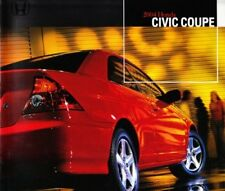 2004 04 Honda Civic Coupe original sales brochure MINT