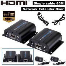 3D HD 1080p 60 milioni IR HDMI EXTENDER ADATTATORE SU SINGOLO LAN RJ45 Cat5e Cat6 Cavo 7