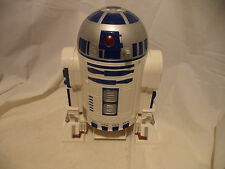 Tiger Star Wars Lg R2 D2 Data Droid 1997 Cassette Tape Player w Sound effects