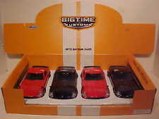 Pack of 4 Datsun 240Z Fairlady 1972 Die-cast Car 1:24 Jada Toys 8 inch Black Red