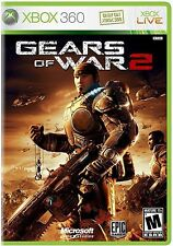 XBOX 360 Gears of War 2 Video Game Multiplayer Online Dramatic Shooter DISC ONLY