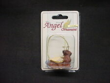 DACHSHUND brown DOG ANGEL ORNAMENT Figurine Statue NEW Christmas puppy red DOXIE