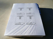 Case 650K, 750K, 850K Crawler Dozer Service Repair Shop Manual Book - Unopened