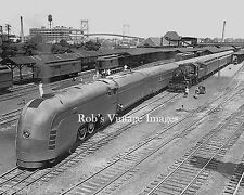 New York Central Steam Train Photo Mercury with consist NYC Railroad  print 4