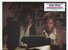 DUSTIN HOFFMANN ROBERT REDFORD ALL THE PRESIDENT'S MEN 1976 VINTAGE LOBBY CARD 9