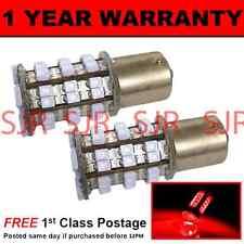 382 1156 BA15S P21W 207 XENON ROSSO 48 SMD LED posteriore nebbia Lampadine X2 rf202201