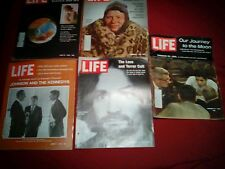 Life Magazine Lot of 17 (Including December 1969 Charles Manson)