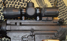 NCSTAR SEECR430R ARMORED TACTICAL COMPACT SCOPE 4x30 P4 SNIPER RED & GREEN ILLUM