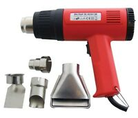 HEAVY DUTY 1500W HOT AIR HEAT GUN PAINT WALLPAPER STRIPPER REMOVER WITH TOOLS