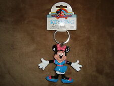 Disney 1993 Mickey & Friends MINNIE Keychain by Monogram Products Pastic