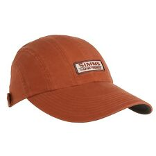 Simms Fly Fishing Double Haul Long Bill Visor Hat / Cap UPF 50+ Orange Color NEW
