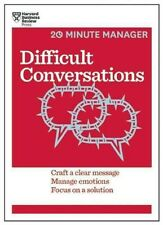 Difficult Conversations by Harvard Business Review Paperback Book (English)