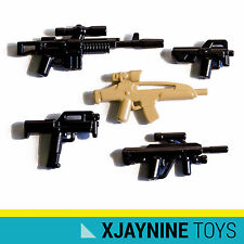 LEGO Custom Modern Warfare Assault Forces Gun Pack for Army or Soldier Minifigs