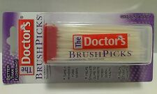 THE DOCTOR'S BRUSH PICKS INTERDENTAL TOOTHPICKS 120 COUNT