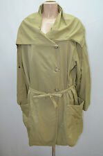 CHRISTINE LAURE IMPER MANTEAU COAT BEIGE FEMME TAILLE 42 T42 XL
