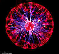 Car Plasma Ball - Color : Red