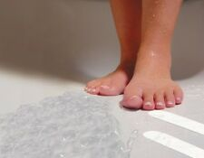 Safe-T-Strips White Non-Slip Safety Applique Mat Stickers - Bath, Tub & Shower