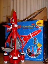 5 4 3 2 1VERY RARE OLD SUPERSIZE THUNDERBIRD 3 + FIGURE PERFECT CONDITION & BOXE