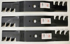"3 Set Heavy Duty Mower Mulching Blades for 54"" MTD Deck Cub Cadet 742 942-0677"