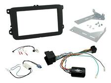 CTKVW17 VW Sharan 2015 on Double Din Stereo Facia Fitting Kit Stalk Aerial