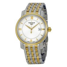 Tissot Bridgeport Silver Dial Stainless Steel Band Mens Watch T097.410.11.038.00