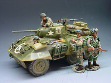 King and (&) Country DD038 - M8 Greyhound Armored Car - Retired