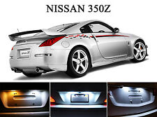 Xenon White License Plate / Tag 168 LED light bulbs for Nissan 350Z  (2 Pcs)