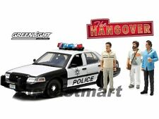 1:18 Greenlight Ford Crown Victoria Police Interceptor Film: Hangover + Figuren
