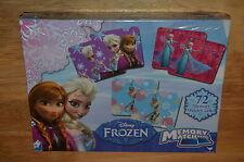 NEW Cardinal Disney FROZEN Elsa Anna MEMORY MATCH GAME Preschool Matching NEW