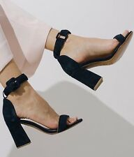 By Far Shoes Navy Velvet - Size 7 - RRP £227 - Cos - Bloggers