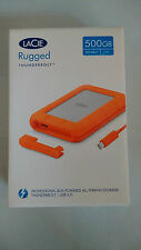 Lacie Rugged V2 500 Gb Ssd Disco Externo Usb 3.0 Thunderbolt 9000491 Nuevo Sellado