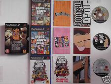 GRAND THEFT AUTO TRILOGY Pour PLAYSTATION 2 TRÈS RARE & HARD TO FIND""