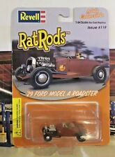 1929 FORD MODEL A ROADSTER  1/64 RAT RODS REVELL COLLECTIBLE COOL PAINT JOB