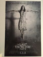 THE LAST EXORCISM PART II 11x17 PROMO D/S MOVIE POSTER 2